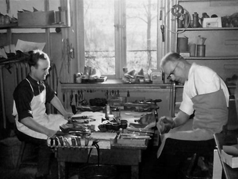 Paul Hast und Karl Winter