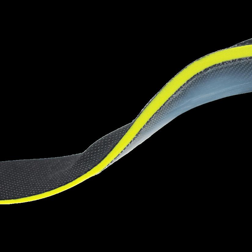 Orthopädische Einlage - Sport aktiv Silverline schwarz - Seite