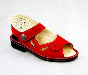 Sandale mit 4Point-Einlage