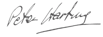 Peter Hartung Signature
