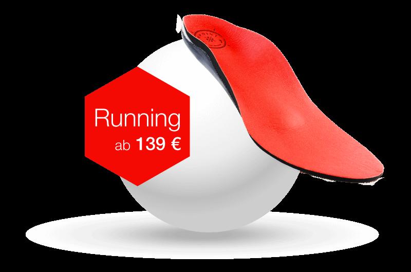 Sensomotorische Einlagen typ Running ab 139€