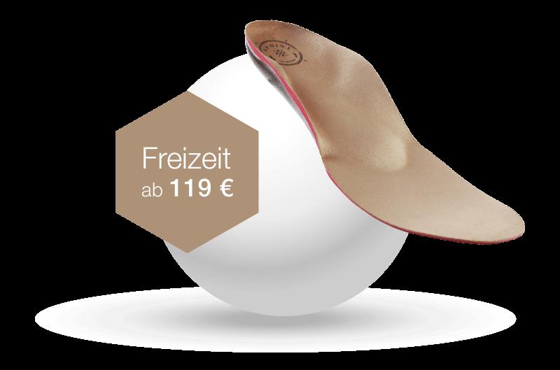 Sensomotorische Einlagen typ Freizeit ab 119€