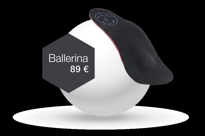 Orthopädische Einlagen typ Ballerina ab 119€